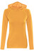 Bergans Cecilie Wool Shirt Lady w/Hood Nectarine Melange